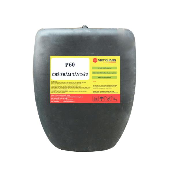 chất tẩy dầu mỡ hỗn hợp p60