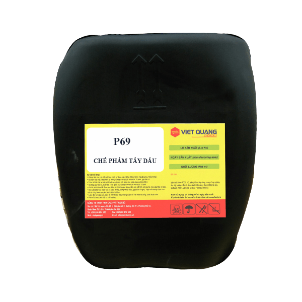 Chế phẩm tẩy dầu mỡ tẩy vết hàn inox p691