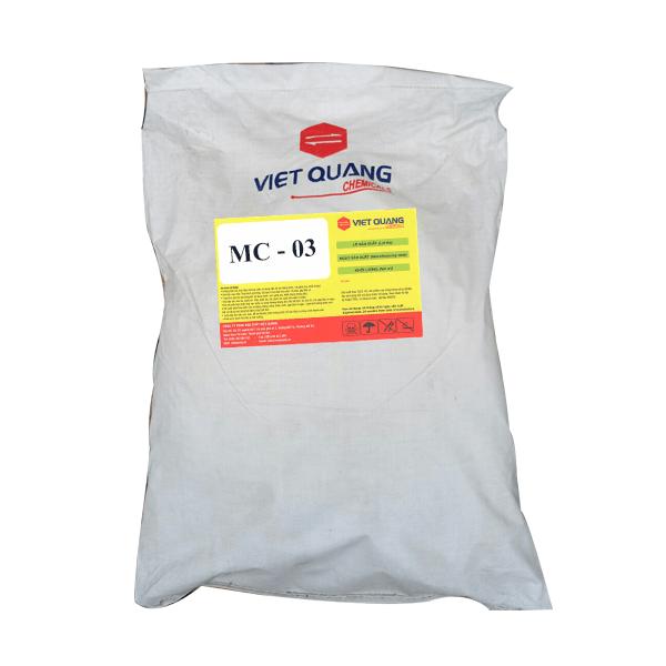 hóa chất tẩy dầu nhôm dạng ngâm mc03