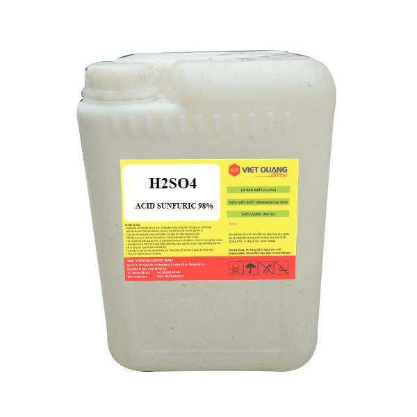 Acid sunfuric 98% H2SO4