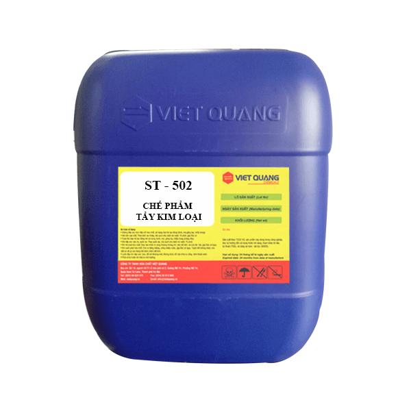 Chế phẩm tẩy bóng hóa học kim loại ST-502 (ngâm)