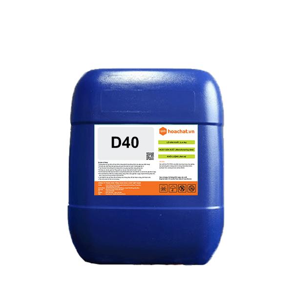 Chất hoạt động bề mặt D40