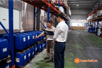 Công ty hóa chất uy tín miền bắc Tổng Kho Hóa Chất Việt Nam 2