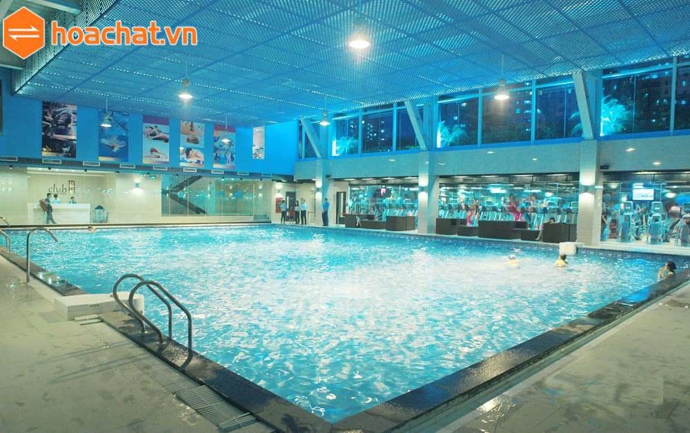 Clorin xử lý nước bể bơi